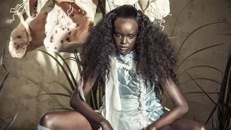 sudanese australian model duckie thot stars pirellis