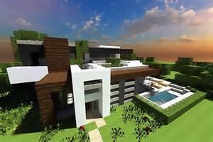 Contemporary Modern House Minecraft