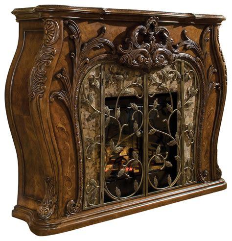 palais royale electric fireplace cognac victorian