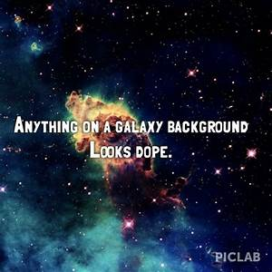 Anything on galaxy background looks dope#galaxy#background ...