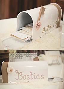 diy mailbox for wedding cards buy a plain white mailbox With adhesive letters for mailboxes