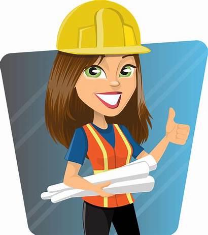 Builder Female Construction Building Scottish