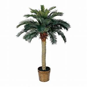 Nearly Natural 5043 Sago Silk Palm Permanent Tree eBay
