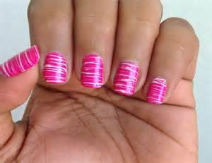 Cute Pink Girly Nail Designs