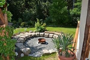Senkgarten Mit Feuerstelle : feuerstelle bilder und fotos zahrada ~ Buech-reservation.com Haus und Dekorationen