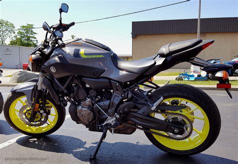 Yamaha Byson 2016 by 2016 Yamaha Fz 07 Ride Impression Moto Adventurer