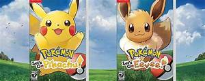 Pokemon Let's Go Pikachu and Eevee - What Pokemon are ...