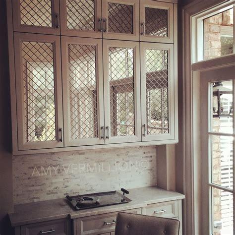 amy vermillion interiors antique mirror  nickel