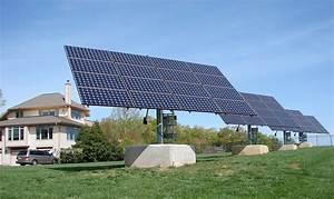 Dual Axis Solar Tracker - Aurora Energy