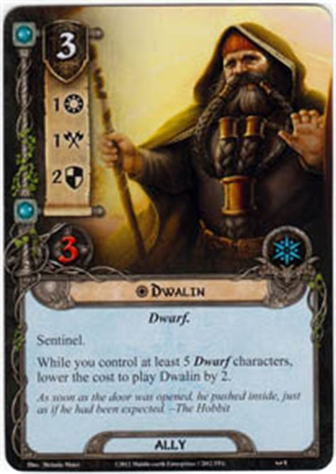 lotr lcg deck lists dwalin on the doorstep lord of the rings lcg lord of