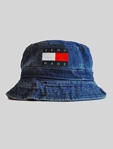 Hat: denim bucket hat, schoolboy q, bucket hat, tommy ...