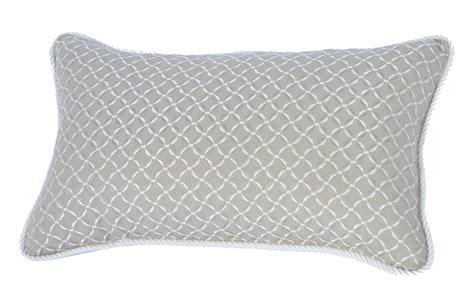 sunbrella outdoor pillows lumbar pillow indoor outdoor 18 quot x12 quot sunbrella stripe with