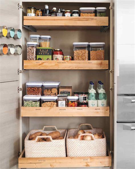 best kitchen storage ideas 10 best pantry storage ideas martha stewart
