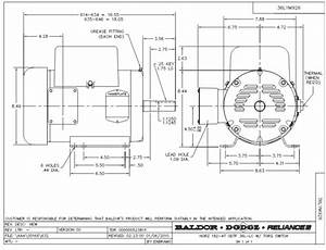 Baldor L1430t Wiring Diagram