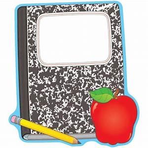 Composition Notebook Clipart - ClipartXtras