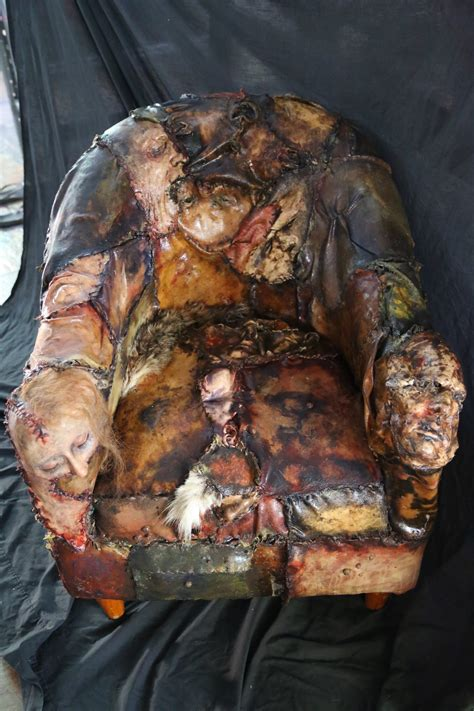 ed gein lounge human skin chair world of arts
