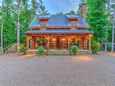 log cabins in arkansas luxury log cabin vacation home farm for lease
