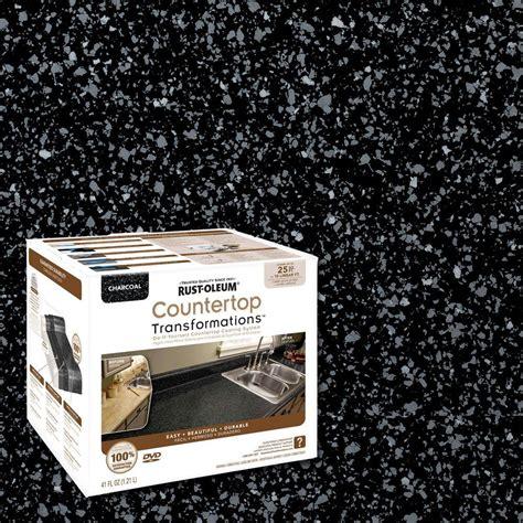 rustoleum countertop transformations rust oleum transformations 48 oz charcoal small