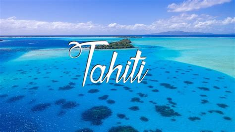 Tahiti In The Air French Polynesia Drone Footage Phantom