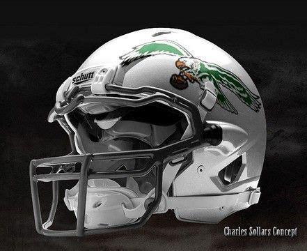philadelphia eagles uniform helmet concept jpg