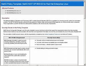 features secure configuration manager netiq With pci dss security policy template