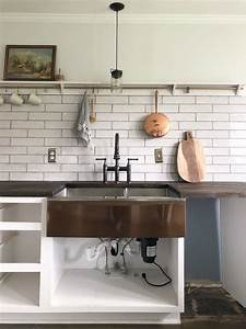 Diy Install An Apron Front Sink With A Butcher Block