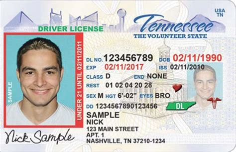 Tennessee Drivers License Template by New Resolution Asks State To Offer Driver License Test In