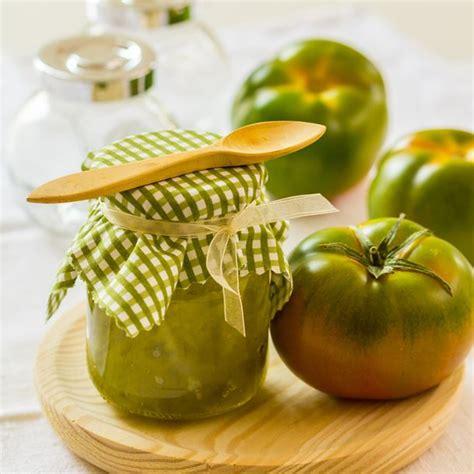 cuisiner tomates vertes recette confiture de tomates vertes