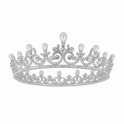 Princess Crown Tiara Austrian Crystals Bridal