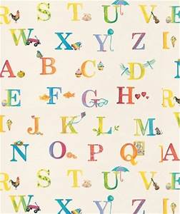 A simple yet stylish alphabet wallpaper that would suit ...