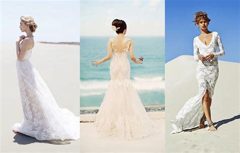 The Hottest Beach Destination Wedding Dresses Of 2015