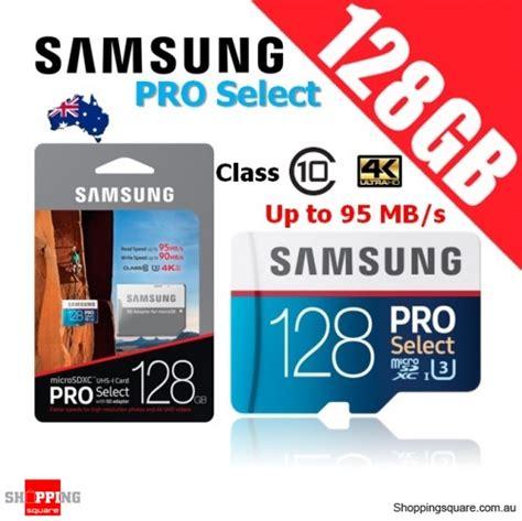 Samsung Pro Select 128gb Microsdxc Memory Card Uhsi U3