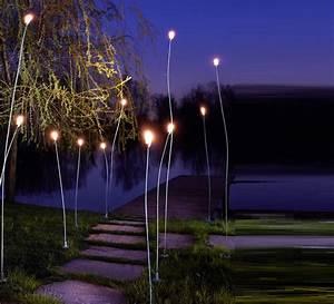 Lampadaire Exterieur Design : lampadaire d 39 ext rieur mini mini cuivre h100cm ip55 led zava luminaires nedgis ~ Teatrodelosmanantiales.com Idées de Décoration