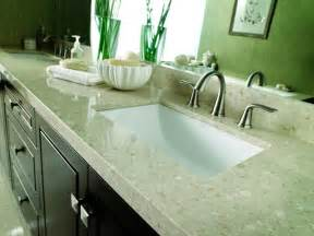 bathroom counter top ideas choosing bathroom countertops hgtv