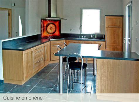 cuisine bois massif contemporaine cuisine en chene massif le bois chez vous