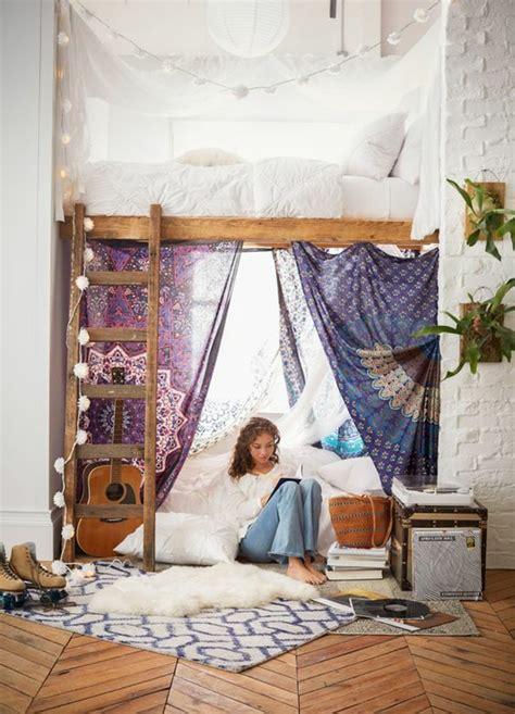 chambre fille lit mezzanine 1001 idées pour une chambre d 39 ado créative et fonctionnelle