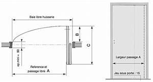 Largeur Porte Pmr : eda porte pliante gain de place double action ~ Melissatoandfro.com Idées de Décoration