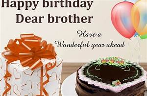 Happy Birthday Facebook Wishes for Brother
