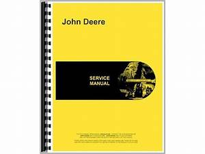 Service Manual For John Deere 650 Tractor  Diesel   2 And