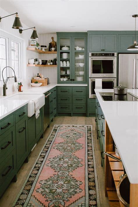 refine define  gorgeous green kitchens green