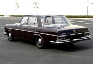 Sharp and Dark: Euro 1967 Mercedes Benz 250S   Bring a Trailer