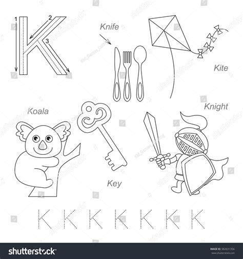letter k worksheets tracing worksheet for children alphabet from 9509