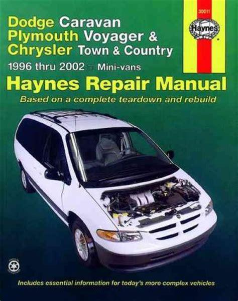 old car owners manuals 2001 dodge caravan electronic valve timing dodge caravan 1996 2002 haynes service repair manual sagin workshop car manuals repair books