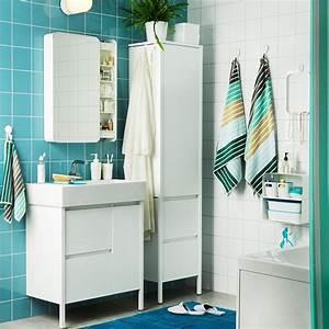 Salle De Bain Etroite : petites salles de bains ikea 6 inspirations qui ont tout bon marie claire ~ Melissatoandfro.com Idées de Décoration