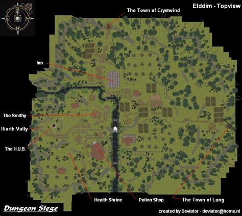 dungeon siege map category locations in the utraean peninsula dungeon