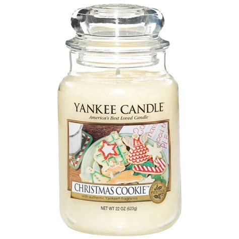 yankee candel yankee candle cookie large jar candle