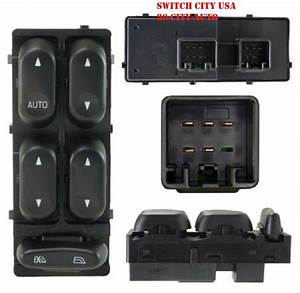 Oem Ford Explorer Mountaineer Master Driver Power Window Switch 1l2z14529ba