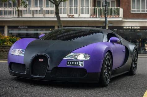 Matte purple/black bugatti veyron cruising. Bugatti Veyron 111111 from London...!!! Only Bugatti ...