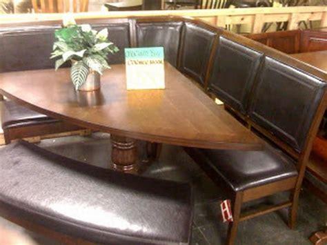 unique corner kitchen table design leather seat  bench