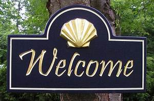 Shell, Welcome, Sign